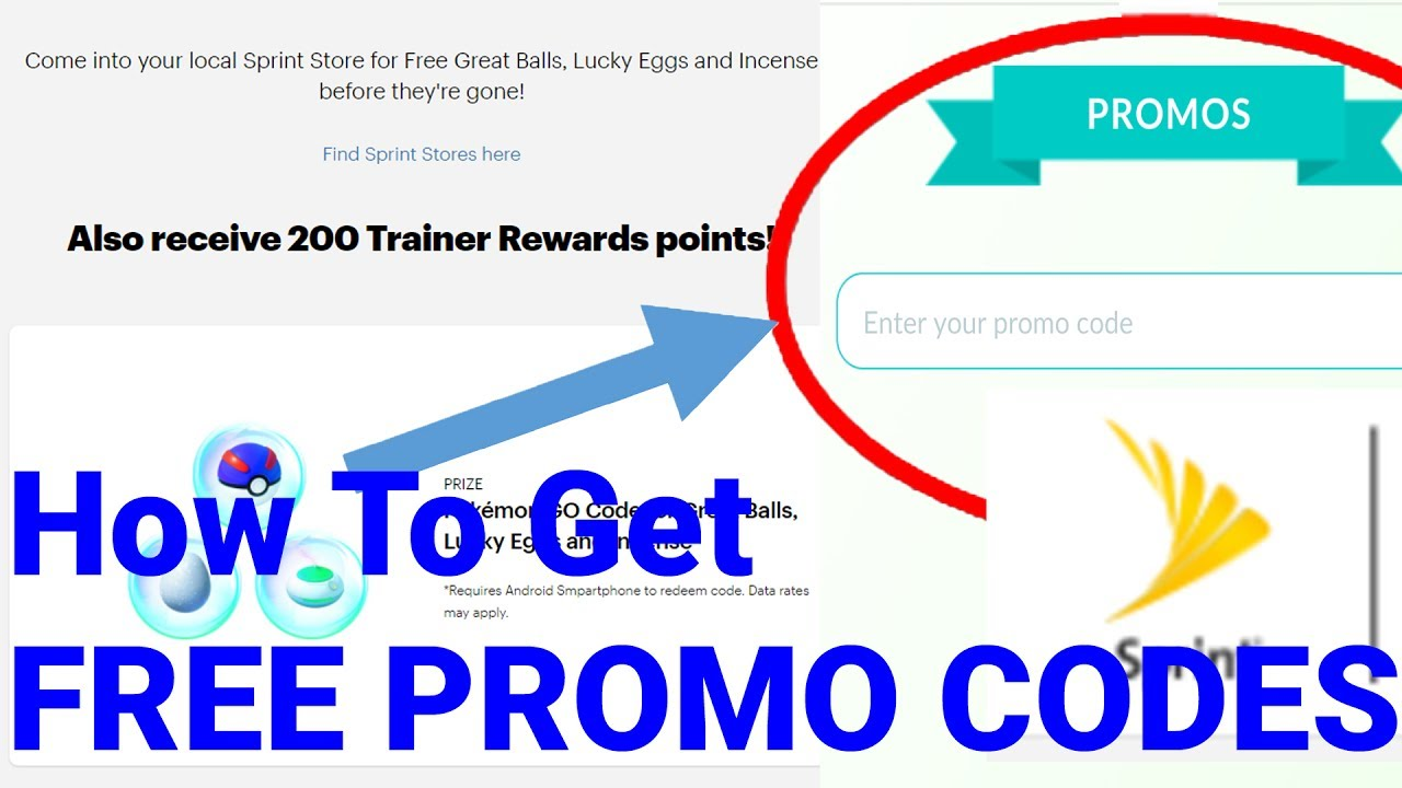 Pokemon Go Promo Codes 2020